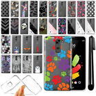 For LG Stylo 2 LS775/ Stylus 2 K520 Ultra Thin Clear TPU Case Phone Cover + Pen