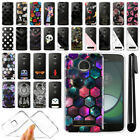 For Motorola Moto Z Play Droid XT1635 Clear TPU Soft Case Phone Cover + Pen