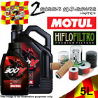 5L MOTUL 300V 15W50 OIL AND HIFLO HF204 FILTER TO FIT VEHICLES IN DESCRIPTION 1