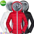 Fashion Short Women's Quilted Cotton Down Jacket Hooded Parka Winter Coat Jacket