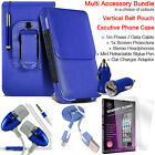 Quality Vertical Belt Pouch Phone Protection Case Cover✔Accessory Pack✔Blue günstig