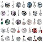 European Pendant Charms Bead Jewelry Fit Silver 925 Sterling Bracelets Necklace image