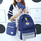 Fashion Handbags Middle School Students Bag Canvas Shoulder Bag Three Sets