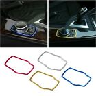 Car Multimedia Button Decal Trim Frame For BMW X1 X3 X5 X6 E70 E83 E90 E91 F15
