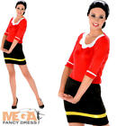 Sailor Girl Ladies Fancy Dress Olive Oye Cartoon Womens Adult Costume Outfit New