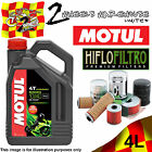 4L MOTUL 5000 10W40 OIL AND HIFLO HF204 TO FIT TRIUMPH MOTOR CYCLES LISTED 1 £29.5 GBP on eBay