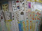 Kathy Davis Stickers Xmas Bird Houses Fall USA Fruit Noahs Ark Nautical Frames &