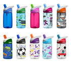 CamelBak Running Cycle Outdoors Hydration Coloured Kids Eddy Water Bottle 400ml