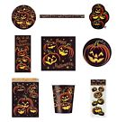 PUMPKIN GRIN HALLOWEEN Party Tableware (Cups/Plates/Napkins) {Unique}