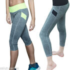 25 Femme Pantalon Jambière Yoga Sport Fitness Elastique Stretch Legging Runnin