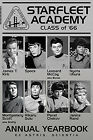 Star Trek Class Of '66 Poster (24x36) With Choice of Rolled/Frame/Plaque on eBay