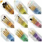 Royal & Langnickel Crafter's Choice soft grip arists paint Brush Packs brushes