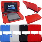 Soft Silicone Rubber Gel Skin Case Cover Original Nintendo 3DS Screen Protector