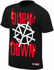 WWE SETH ROLLINS Burn It Down OFFICIAL AUTHENTIC T-SHIRT