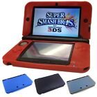 Soft Silicone Rubber Gel Skin Cover Original Nintendo 3DS XL/LL+Screen Protector