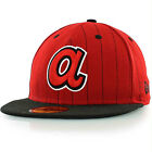Atlanta Braves Cooperstown MLB New Era 59FIFTY [5950] Fitted Cap
