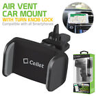 Cellet Premium Air Vent Mount Cell Phone Holder w/ 360 degree rotation