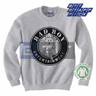 Organic Unisex Women's Men's Bad Boy Entertainment Records Sweater Sweatshirt BN