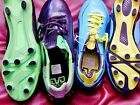 Women soccer shoes cleats Puma Evo speed 4 black green blue new 5.5 7 8.5 9 9.5