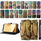 "For Samsung Galaxy S8 G950 5.8"" Vintage Design Wallet Cover Case Kickstand + Pen"