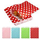 4 Color 12 Pcs/ Bag Wedding Party Food Gift Disposable Polka Dot Paper Bagss SH