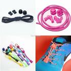 No Tie Elastic Lock Lace System Lock Shoe Laces Shoelaces Runners Kids Adults SH
