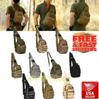 Внешний вид - Men Backpack Molle Tactical Sling Chest Bag Assault Pack Messenger Shoulder Bag
