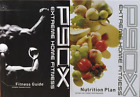 P90X Extreme Home Fitness Nutrition Plan & Fitness Guide Magazine **Choose One**
