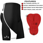 Mens Cycling Shorts Padded Cycle Bicycle Street MTB Racing Shorts S,M.L,XL,XXL