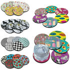 6 pcs Absorbent Neoprene Washable Coaster Cup Drinks Holder Tableware Placemat