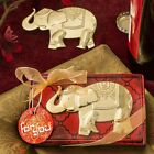 Good Fortune Elephant Design Gold Bottle Opener - Wedding Favors - Lots of 20-96