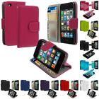 For Apple Ipod Touch 4th Gen 4g Wallet Leather Pouch Case Cover With Id Slots