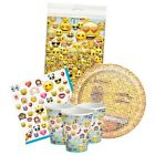 EMOJI Party Pack {Tablecover/Cups/Plates/Napkins} (Birthday/Smiley Faces)