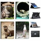 Otter Animal Folio Cover Leather Case For Apple iPad
