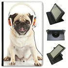 Best Amazon Headphones For Kindles - Pug Pugs Love Little Dogs Universal Folio Leather Review