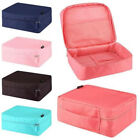 New Portable Travel Toiletry Case Pouch Cosmetic Cube Storage Solid Bag