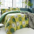 APPLETREE® 100% COTTON CATORI LUXURY DUVET COVER MODERN TROPICAL PALM LEAF PRINT