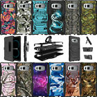 For Samsung Galaxy Note 8 N950 (2017) Holster Clip Kickstand Case Camos