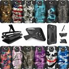For LG X Power 2 | Fiesta LTE | X Charge | K10 Power | LV7 Hybrid Cover Camos