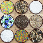 Plants Flowerpot Mini Gravel River Stone Pebbles Fish Tank Aquarium Decorations