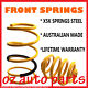 FRONT STANDARD HEIGHT SPRINGS TO SUIT NISSAN STANZA 1978-1983
