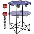 Picnic Plus Scrimmage Tailgate Table 4 Colors Outdoor Accessorie NEW