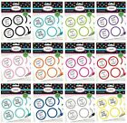Round Sticker LABELS (20pk) Decorative/Reward/Candy/Scalloped (Party)(Amscan)