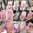 Bling Glitter Liquid Gel Soft Phone Case Cover For Apple iPhone 5 6 6s 7 Plus 8