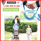 Kids Safety Leash Anti Lost Wrist Link Harness Strap Child Toddler Leash Rope US