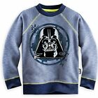 Disney Store Star Wars Long Sleeve Sweatshirt Shirt Boy Size 7/8