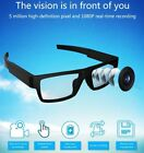 Spy Glasses Hidden Camera 1080P Full HD with Touch Button Eyeware Video Recorder