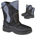 NEW MENS SNOW SKI BOOTS RUBBER FUR WELLINGTONS WATER PROOF BOOTS UK SIZE 7-11