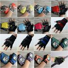 Windproof Half Finger Motorcycle Cycling Gym Sports Protective Gloves Mittens