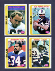 1978 BUFFALO BILLS TEAM SET LOT OF 13 CARDS MOST NM/MT-MT FROM VENDING BOX